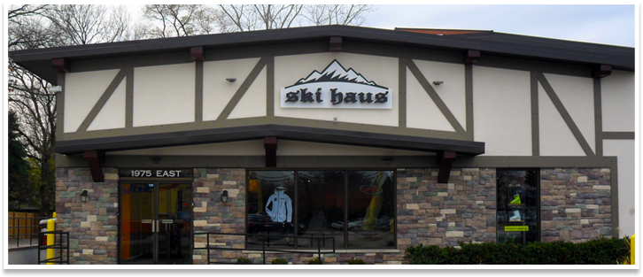 Ski and Snowboard Storefront